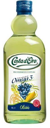 Смесь масел Омега-3 500мл смесь растительных масел, рафинированное, Коста Д Оро
