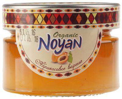 Варенье из абрикосов 150г Ноян, органик