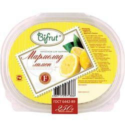 Мармелад Лимон на фруктозе 250г