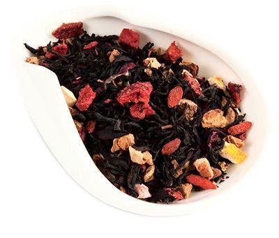 Чай черный Апельсин и Годжи 100г ароматизированный Premium