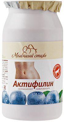 Актифилин Черника 2,5% жир., 190г кисломолочный продукт, 21 сутки, PROBIOTIC, Молочный стиль