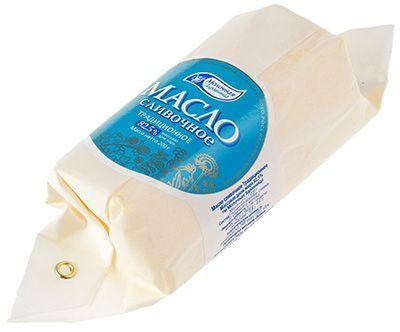 Масло традиционное сливочное 82,5% жир., 200г Молочная Здравница