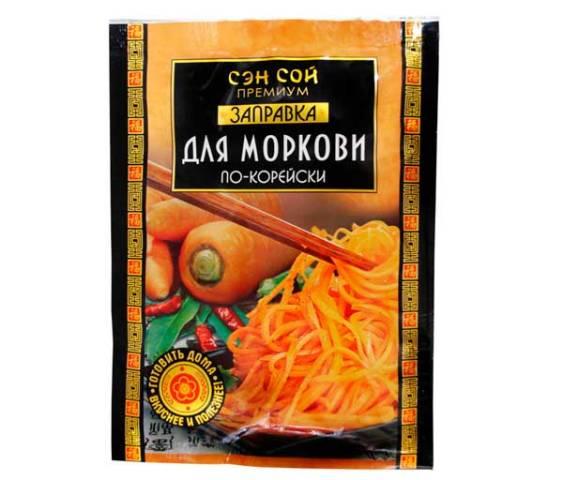 Заправка для моркови по-Корейски 80г для салата, Сэн Сой