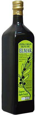 Масло оливковое Эльмар 1л нерафинированное, Extra Virgin, Греция