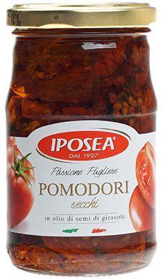 Томаты сушеные в масле 280г IPOSEA