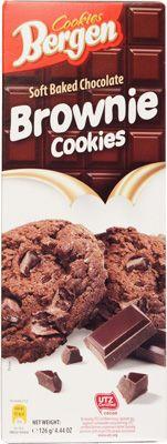 Печенье шоколадное с кусочками шоколада 126г Брауни, Польша