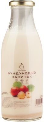 Напиток фундуковый 500мл 100% натурально, без сахара, Volkomolko, 14 суток