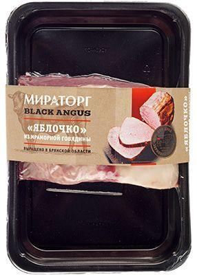 Говядина Яблочко ~ 850г кусок без кости, охлажденный, Black Angus, Мираторг