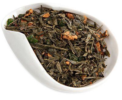 Чай зеленый Дикое яблоко 100г ароматизированный, Китай
