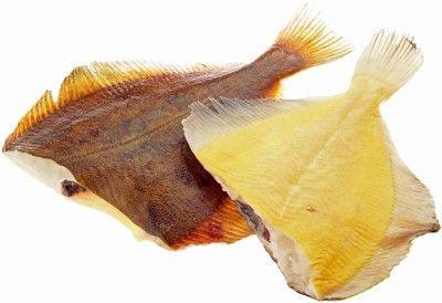 Камбала желтобрюхая дальневосточная ~1кг 4-5шт, замороженная, потрошеная, без головы, вылов 2016г, Камчатка