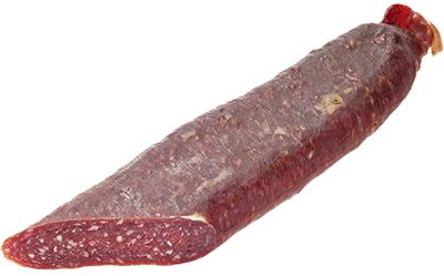 Суджук сырокопченый ~ 330г натуральная оболочка, Вегус