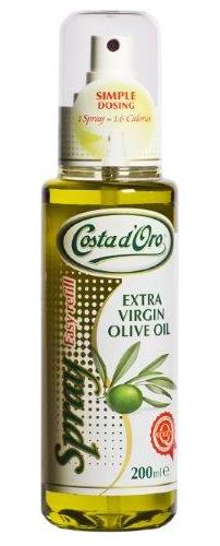 Масло оливковое, спрей, Extra Virgin, 0,2л нерафинированное, Коста Д Оро