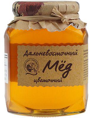 Дальневосточный цветочный мед 500г Кедровый Бор