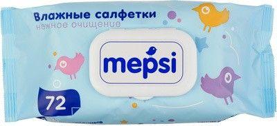 Влажные салфетки Mepsi 72 шт, Россия