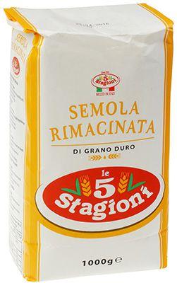 Мука из твердых сортов пшеницы 1кг SEMOLA DI GRANO DURO, Италия