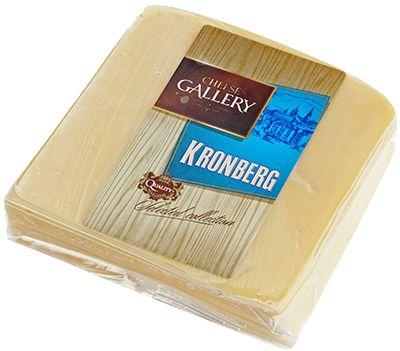 Сыр Кронберг 50% жир., 250г кусок, Cheese Gallery, Россия