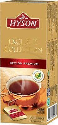 Чай Хайсон Цейлон черный 50г 25штх2г, премиум, HYSON