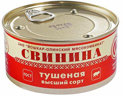 Свинина тушеная ЛЮКС 325г высший сорт