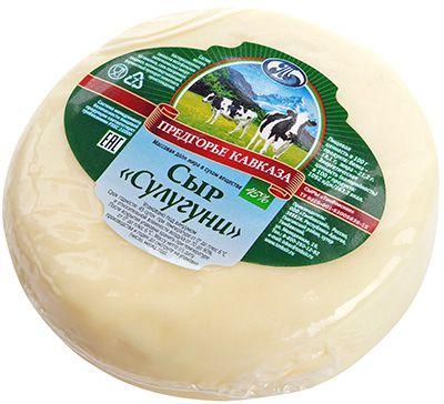 Сыр Сулугуни 45% жир., 300г Предгорье Кавказа